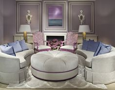 This room is fun and elegant at the same time