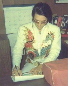Elvis...in office