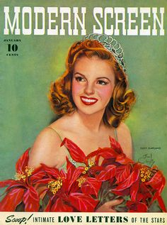 Modern Screen magazine January 1942 with Judy Garland on the cover Hooray For Hollywood, Golden Age Of Hollywood, Vintage Hollywood, Classic Hollywood, Hollywood Glamour, Star Magazine, Movie Magazine, Old Magazines, Vintage Magazines