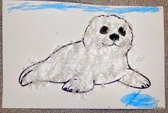 Tippytoe Crafts: Fluffy Seal Pups
