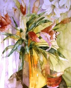 Watercolor by Shirley Trevena, British painter