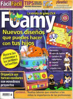 Revistas de manualidades Gratis: Manualidades para niños con foamy
