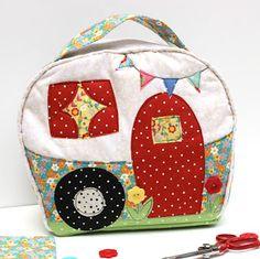 Jennifer Jangles Blog: How the Happy Camper Bag is Made