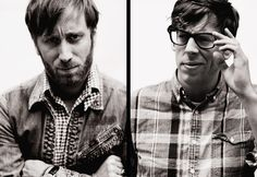 """""""Interviewer: """"Why don't more girls like The Black Keys? Are they really all at Kings of Leon shows, as has been suggested?: Pat: """"I don't know. I am afraid of them anyway so it is best they stay away. And we look like managers from a Sbarro. #theblackkeys"""