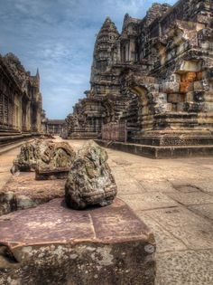 Angkor Wat - HDR 2- Cambodia - Travel with a PEN by Paul Emmings