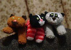 Free pattern: marionnettes à doigt