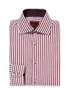 Striped Cotton Dress Shirt by GEMELLI at Gilt www.GemelliShop.com