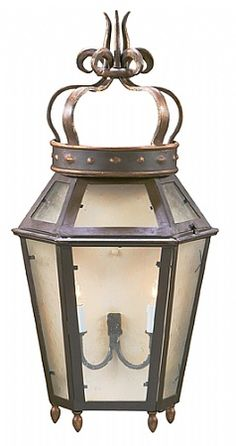Regal Wall Lantern by @ebanistacollect
