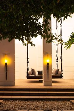 Dine alfresco overlooking the shaded courtyard. Park Hyatt Siem Reap (Siem Reap, Cambodia) - Jetsetter