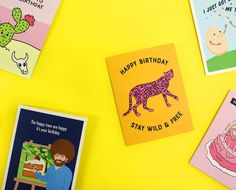 Birthday thoughts and cards by seltzer goods seltzer goods unique greeting cards paper goods and gifts m4hsunfo