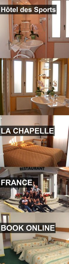 Hotel Hôtel des Sports in La Chapelle, France. For more information, photos, reviews and best prices please follow the link. #France #LaChapelle #travel #vacation #hotel