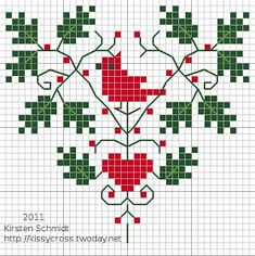 Thrilling Designing Your Own Cross Stitch Embroidery Patterns Ideas. Exhilarating Designing Your Own Cross Stitch Embroidery Patterns Ideas. Xmas Cross Stitch, Cross Stitch Christmas Ornaments, Cross Stitch Heart, Modern Cross Stitch, Counted Cross Stitch Patterns, Cross Stitch Designs, Cross Stitching, Cross Stitch Embroidery, Christmas Cross Stitch Patterns