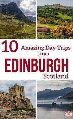 Pinterest Best day trips from Edinburgh Scotland Travel Guide