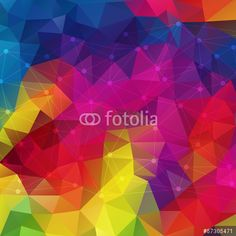 Wektor: Abstract geometric colorful background.