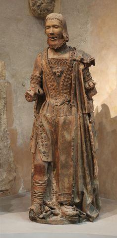 Joan Beauduy, Profèta (1523, Tolosa, Musèu dels Agustins, Tolosa, fotò Daniel Martin).