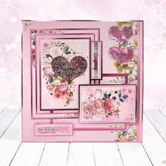 Cards and projects from our Blush Moments collection featuring stunning floral imagery throughout. Blush Pink, Lilac, Fun Crafts, Paper Crafts, Hunkydory Crafts, Card Making Inspiration, Beautiful Birds, Decorative Boxes, Greeting Cards