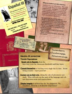 A collection of EXCITING syllabi for World Language classes.