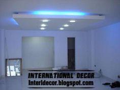 Classic gypsum, plaster roof in Spanish designs, calm gypsum roof designs
