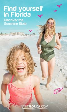 They won't be this age for long, so make every second count with a family vacation in Florida.