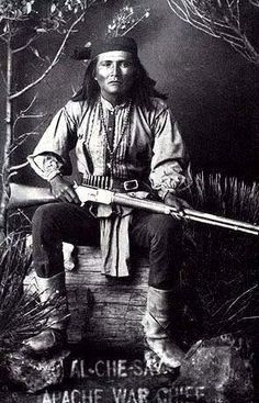 al che say... Apache War Chief