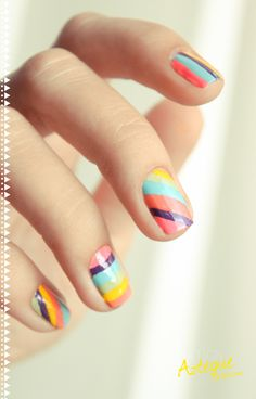 COLOR COMBO :: Love these colors together! Would also be good colors for an ombre mani