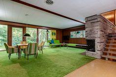 Stunning mid-century modern Toronto time capsule house by architect Gardiner Cowan - Retro Renovation