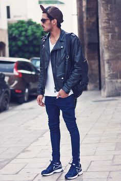 CASABLANCA STREET STYLE (by Mohcine Aoki) http://lookbook.nu/look/4158340-CASABLANCA-STREET-STYLE