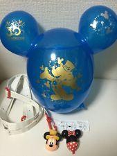 Popcorn bucket Tokyo Disney Japan Mickey & Minnie shiny batch