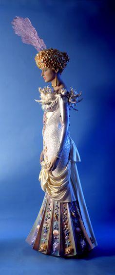 Cosmic Mermaid wedding dress