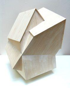 concept MODEL (via architude) Gothic Architecture, Concept Architecture, Interior Architecture, Arch Model, Art Object, Wood Sculpture, Geometric Designs, 3d Design, Home Art