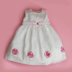 Pink roses for really special ocassions for more event dresses for your little one check out www. Event Dresses, Wedding Dresses, Fairytale Dress, Stylish Dresses, Little Princess, Dress For You, Pink Roses, Flower Girl Dresses, Summer Dresses