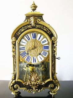 Antique French Boulle Clock 18th Century | eBay