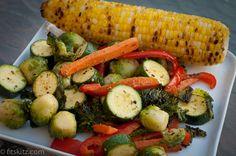 How vegetarians enjoy a summer BBQ!!