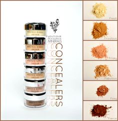 Built on a strong foundation. Moodstruck Minerals Concealer. youniqueproducts.com #youniqueproducts #beauty #mineralmakeup