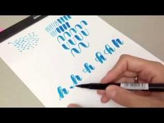 #letterattack Lettering Lessons - Brush Lettering Alphabet hH