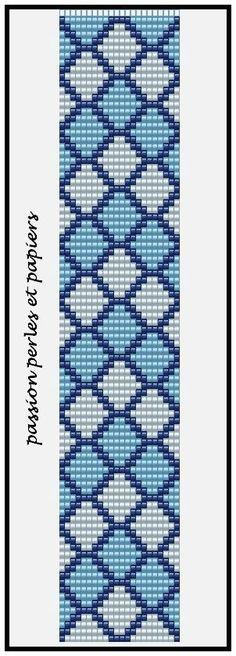 off loom beading techniques Loom Bracelet Patterns, Seed Bead Patterns, Bead Loom Bracelets, Beaded Jewelry Patterns, Weaving Patterns, Mosaic Patterns, Knitting Patterns, Art Patterns, Loom Knitting