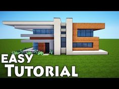 "http://minecraftstream.com/minecraft-tutorials/minecraft-small-easy-modern-house-tutorial-how-to-build-a-house/ - Minecraft: Small Easy Modern House Tutorial - How to Build a House  ➜Minecraft: How to Make Modern House / Mansion #11 ➜Thumbs up^^ & Subscribe for more =) ►http://goo.gl/q4AtTD ➜Download houses from my website:             http://billionblocks.com ➜Download My Texture pack: http://billionblocks.com     Called ""FlowsHD"" ▼More House..."