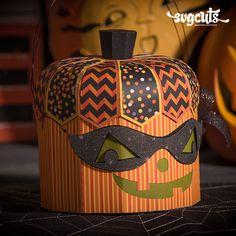 ♔ SPOOKY SOIREE PUMPKIN BOX SVG KIT | SVGCUTS.COM #CRICUT, #CRICUTEXPLORE