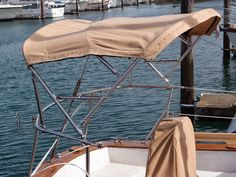 The Log of Hagoth: Bimini Done: Canvas Work Tougher Than It Looks Boat Canopy, Sailboat Living, Alphabet Photography, Classic Yachts, Build Your Own Boat, Canvas Designs, Sailing, Sailboats, Dodgers
