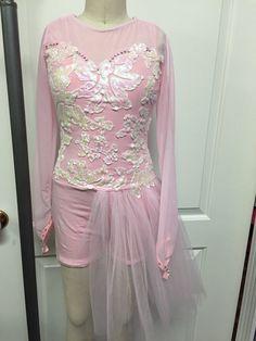 Pink dance costume