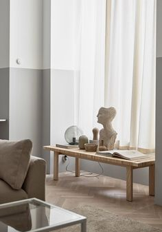 Some inspiration from Ikea Livet Hemma today, with two very different living room looks. The first is a soft minimalism style living room. Beige Living Rooms, Ikea Living Room, Beige Room, Decor Room, Home Decor, Wall Decor, Living Room Remodel, Apartment Living, Minimalist Decor
