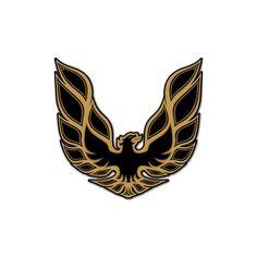Pontiac Firebird Logo Cutout Metal Garage Sign | GM Chevy Signs | RetroPlanet.com
