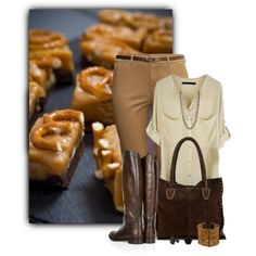 """""""Chocolate and Peanutbutter"""" by johnna-cameron on Polyvore"""