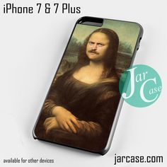 ron swanson monalisa Phone case for iPhone 7 and 7 Plus