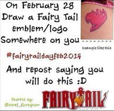So i'm doing this on my birthday wooohoooo!!!!!!   (My birthday is february 28)