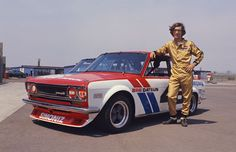 John Morton, BRE Datsun 510 Great driver!