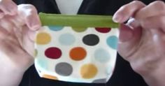 Got Scrap Fabric? Use It To Make This Snap Purse!