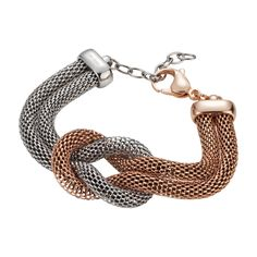 Stainless steel necklace silver-gold female Gerry Weber s4PcS