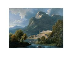 Italian Landscape, 18th-19th Century by Pierre-Henri de Valenciennes. Giclee print from Art.com.