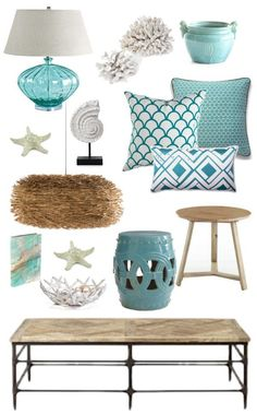 Such great items for a beach house.  Sally Lee by the Sea | French Seaside Decorating Style! | http://nauticalcottageblog.com